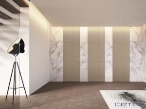 Porte interne speciali a filo muro